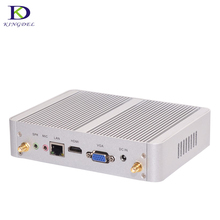 Fanless HTPC,Nuc Intel Core i3 4005U Dual Core,USB 3.0,VGA,HDMI,WIFI,3D game support,Mini nettop computer Destop Mini PC TV(Hong Kong)