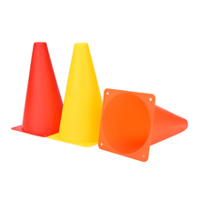 6 Pcs Hot Sale Agility Football Training Cones Soccer Sports Field Drill Markers 9""