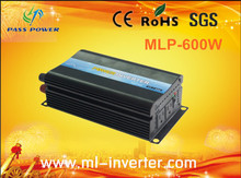 High Efficiency 600 Watt  DC 24v to AC 120v Solar Off Grid Inverter One Year Warranty