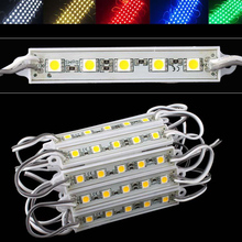 5050 5 LED Module DC12V Waterproof ip65 lighting,LED Sign Backlight Modules,Advertising Light Box Modules,1000PCS/Lot