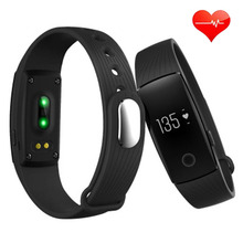 Cheap Heart Rate Monitor Smart Wristband H107 Health Fitness PK For Xiaomi mi band 2 IOS Charge HR PK Sleep Anti Lost