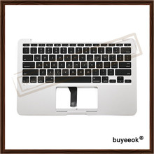 Original New Topcase 11.6'' For Macbook Air A1370 A1465 Palmrest Top case with US keyboard Backlight no Touchpad 2013 - 2015