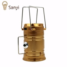 2016 Multifunctional 1 in 1 Solar Power Camping Light Lamp Portable Flashlight Torch Lantern For Outdoor Camping Hiking Sports