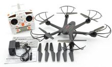F15067-D Black MJX X600 2.4G 6 axle 3D Roll FPV Wifi Helicopter RC Drone Quadcopter UFO No Camera with Extra Props
