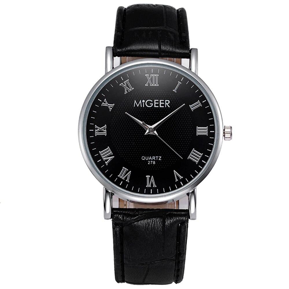 Top Brand Luxury Fashion Crocodile Faux Leather Mens Analog Wrist Watches Business Watch Men Digital Relogio masculino Clock<br><br>Aliexpress