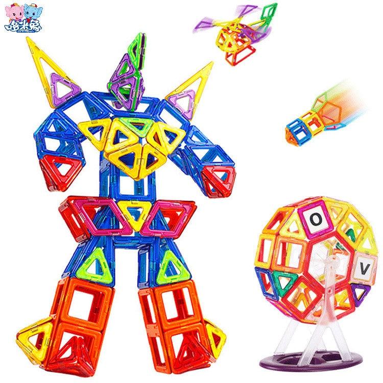 99pcs/set Mini Magnetic Designer Building Block Educational Toys DIY 3D Models Toy Brick For Children<br><br>Aliexpress