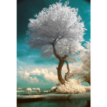 New Goods Market !DIY Diamond Embroidery 5D Cross Stitch Kits Diamond Embroider Full Rhinestone mural Landscapes Tree Y287