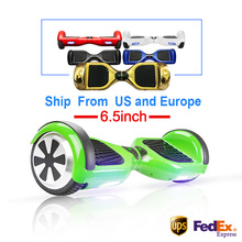 Hoverboard 6.5 inch Smart Self Balance Scooter 2 Wheel Hoover Boosted Hover Board Giroskuter Car Unicycle USA Warehouse