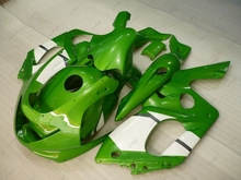 Full Body Kits YZF 600R 06 07 Abs Fairing YZF600R 02 03 1997 - 2007 Green White Fairings YZF 600R 00 01