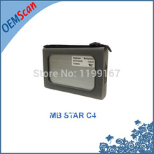 2017 New Cost Effective diagnostic tool Mb Star C4 for both Cars & Trucks without software MB c4 star as MB star c3 multiplexer
