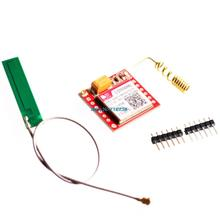 Smallest SIM800L GPRS GSM Module MicroSIM Card Core BOard Quad-band TTL Serial Port with the antenna