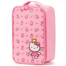 Sale Blue Orang Hellokitty Shoes Bag Waterproof Dirty Portable Large Storage Separation Rod Box Parts Polyester Square Set