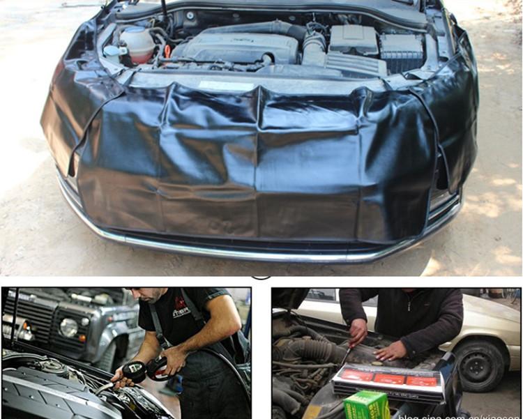 หนักรถบรรทุกAutoพิทักษ์ทำงานจ้าปกซ่อมรถเสื่อแม่เหล็กรถบังโคลนหน้าปก 9