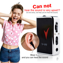 Portable Durable Hearing Aid Digital Hearing Kit Behind the Ear Sound Voice Amplifier Sound Adjustable Kit(China)