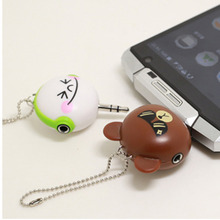 1 TO 2 audio splitter Headphone Jack K Song Phone computer headset microphone Jack combo conversion cable 3.5mm