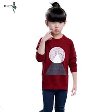 Fashion Knitted Sweaters Wool Geometric Patterns Les Filles Long Sweater Girls Thin Pullover Underwear Children Autumn Clothing(China)