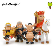 Mr.Froger Journey To The West Action Figure Anime Monkey Micro Miniature Garden Decorations Figurines Resines Toys for Children(China)
