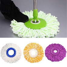 1pc/Lot 4 Colors Ultrafine Microfiber Mop head To Mop 360 Magic Easy Spin floor mops Home Clean Tools dweil mopas de limpieza