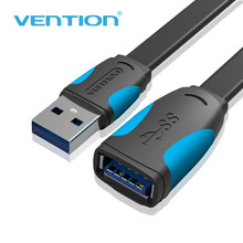 Vention USB 3.0 HDMI Extension Cable Male To Female hdmi USB Extension Cord 0.5m 1m 1.5m2m3m Data Sync Transfer Extender Cable(China)