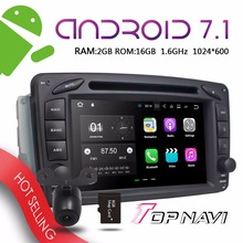 WANUSUAL 7'' Android 7.1 Auto GPS Navigation for Benz ML W163 CLK W209 C-Class W203 SLK W170 E-Class W210 A-Class W168 RAM2G 16G