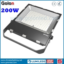 High quality good price floodlighting supplier 100-277V 5 years warranty white 4000K 5000K 6500K 200 watt LED flood light