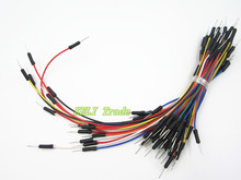new  130pcs Jump Wire Cable Male to Male Jumper Wire for Arduino Breadboard