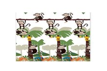Memory Home Cute Monkey Kids Bath Kids Home Decorative Entry Way Outdoor Door Mat with Non Slip Backing 40x60CM 45X75CM Doormat(China)