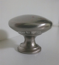 Diameter 30mm 20pcs/lot  Satin Nickel pull Knobs Cabinet Hardware Pull Handle free shipping-K