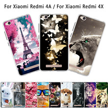 Buy Xiaomi Redmi 4A 4x Case Soft Silicone Funda Coque Redmi 4A Back Cover 3D Animal Cute Bags Shell Redmi 4X Phone Cases for $1.49 in AliExpress store