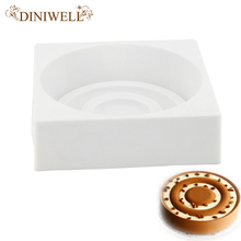 DINIWELL Silicone Cake Decorating Moulds Round Circular Shape Bakeware Baking Tools For Chiffon Stand Sponge Stencil Bakery Mold(China)