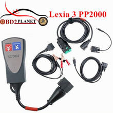 2017 Lexia 3 PP2000 Diagnostic Tool Lexia3 Firmware 921815C For Citroen For Peugeot Diagbox 7.83 LEXIA-3 Support Multi-Languages(China)