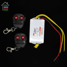 DC 12V 2CH Digital Wireless Remote Control Switch Relay Set 2 Receiver Transmitter ON OFF Fixed Code for DIY Electrical