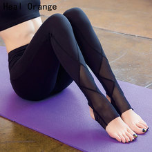 HEAL ORANGE Woman Sport Leggins Gym Running Tights Active Wear Calzas Deportivas Mujer Fitness Legging Yoga Legging Sports Pants(China)