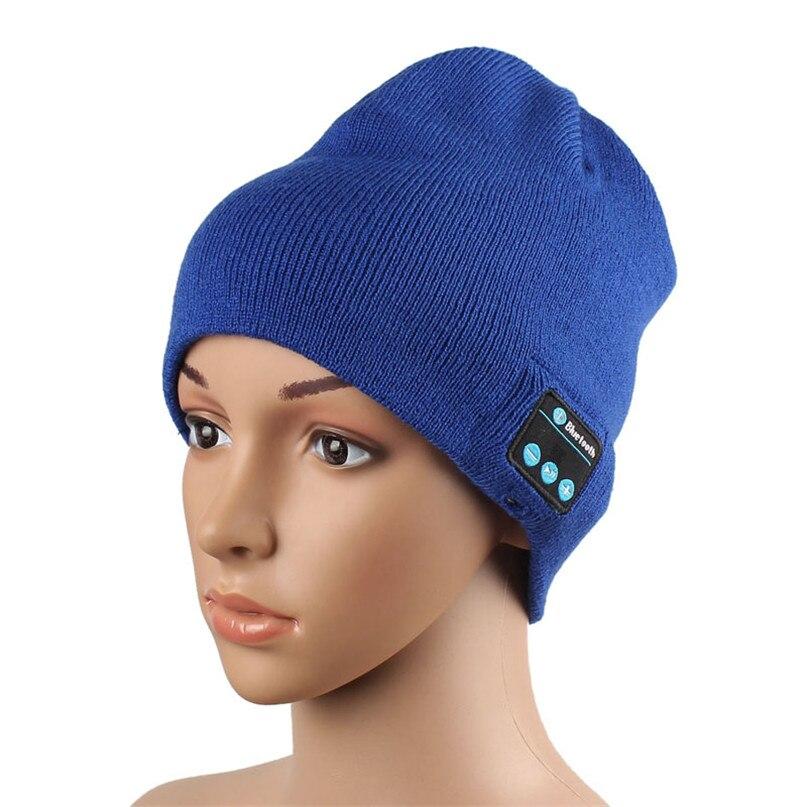 Modern hats for women men Wireless Bluetooth Hat Smart Cap kitted Wool Warm Speaker Mic Headset Headphone clothes 3 color Oct14Îäåæäà è àêñåññóàðû<br><br><br>Aliexpress