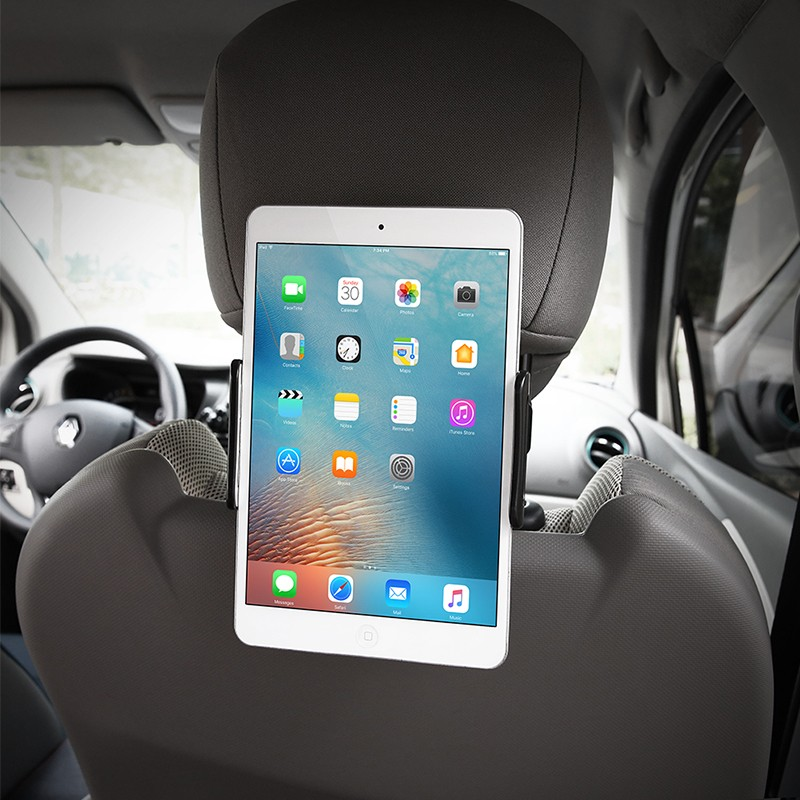 Car Phone Holder Back Seat Tablet Bracket 4-11 Inch 360 Degree Car Holders For iPhone X 8 iPad 2 3 4 Mini Mi Pad 2 3 Mediapad (8)