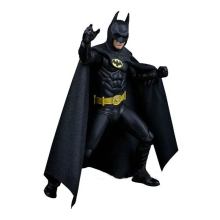 Movie 1989 Michael Keaton come Batman 25th Anniversary Pvc Wiht Arms Action Figure Toys 17cm(China)