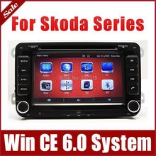 "7"" Car DVD Player for Skoda Octavia Fabia Superb with GPS Navigation Radio Bluetooth TV USB AUX 3G Stereo Audio CAN Bus Sat Nav"