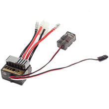 320A Brushed Motor Speed Controller ESC For RC Car Ship & Boat boat 1/8 1/10 Truck Buggy(China)