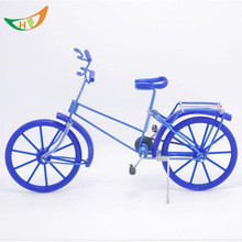Metal Aluminium wire crafts DIY  weaving mini bmx bike model miniatures Creative home furnishing articles