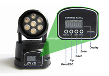 RGBW mini led wash moving head 4in1 moving head led 7x12W mini moving head led(China)