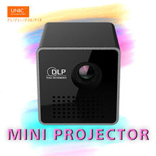 UNIC LED LCD Mini Pico Projector P1/P1+/P1H DLP Full HD 1080P 3D Perfect Home Cinema Theater Beamer ONLY 95G!!Built-in battery!(China)