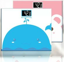 1 pcs cute Household mini Digital electronic scales health scales Gifts Weight Body Bathroom square Scale