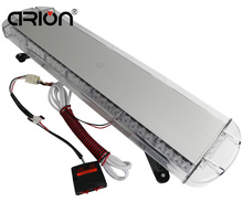 "CIRION 12/24V 34"" 64W 64 LED Car Truck Strobe Emergency Warning Flashing Light Bar Beacons Lights Lamp Red Blue Amber White"