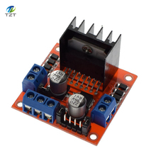 1PCS Special promotions 1pcs/lot L298N motor driver board module L298 for arduino stepper motor smart car robot(China)