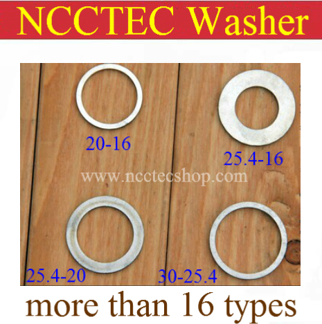 NCCTEC steel/copper washer for wooden aluminum saw blade cutting disc FREE shipping | more than 16 types<br><br>Aliexpress