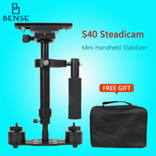 S40 40cm Professional Handheld Stabilizer Steadicam for Camcorder Digital Camera Video Canon Nikon Sony DSLR Mini Steadycam