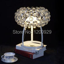 Crystal Ion Table Lamp Modern Lampshade Living Room/Bedroom/Dining Room Decor TLL-38