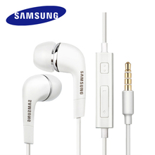 SAMSUNG Headset EHS64 Wired 3.5mm In-ear  with Microphone for Samsung Galaxy S8 S8Edge Support Official Verification Original