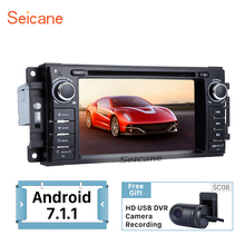 Seicane Android 7.1 GPS Navi Stereo DVD Player for 2005-2010 Chrysler Sebring Aspen 300C Cirrus Radio WIFI USB SD SWC OBD AUX