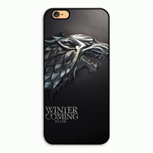 2016 Game of Thrones Winter Is Coming Stark (2) fashion cell phone case for iphone 4 4s 5 5s SE 6 6s & 6 plus 7